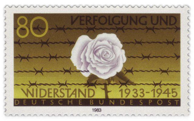 Verfolgung und Widerstand – Deutsche Briefmarke von 1983